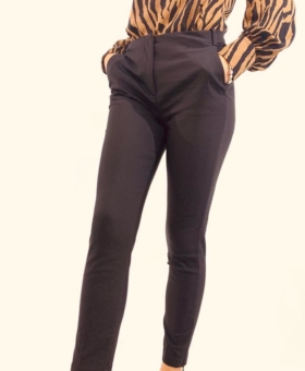Black Ankle Zip Trousers (Product 201)