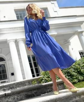 Bluebell Pull In Sleeved Dress